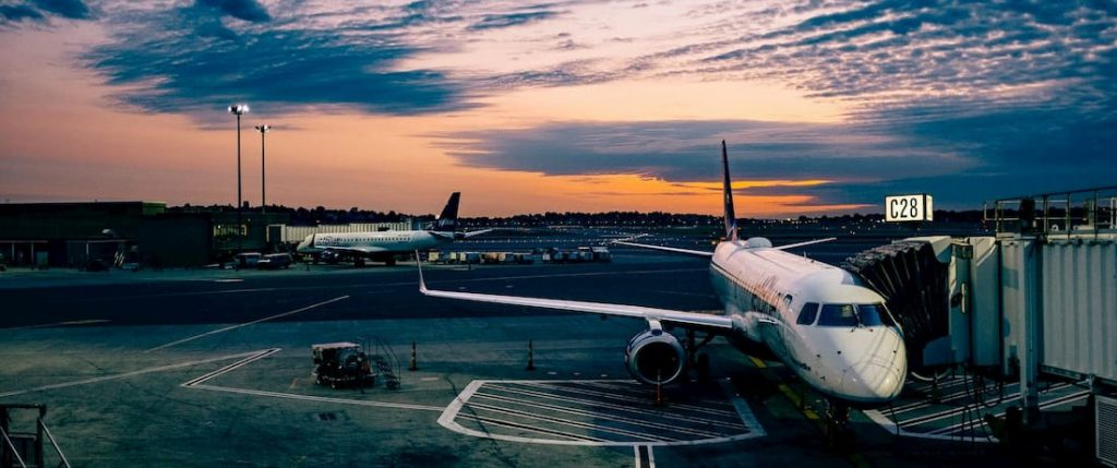 samolot z chin transport